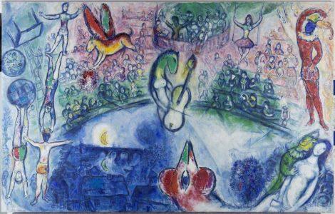 Marc Chagall La Commedia dell'Arte
