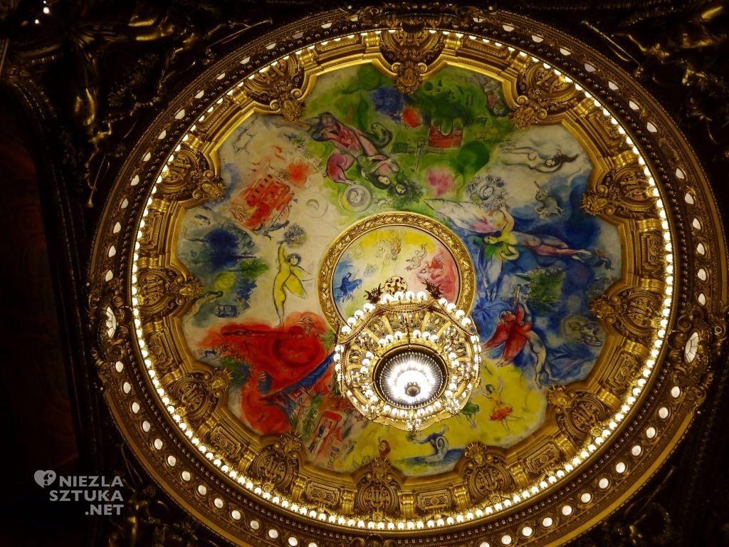 Marc Chagall Opera Garnier sufit