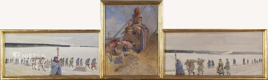 Jacek Malczewski, Mój pogrzeb, Muzeum im. Jacka Malczewskiego w Radomiu, sztuka polska, malarstwo polskie, Niezła sztuka