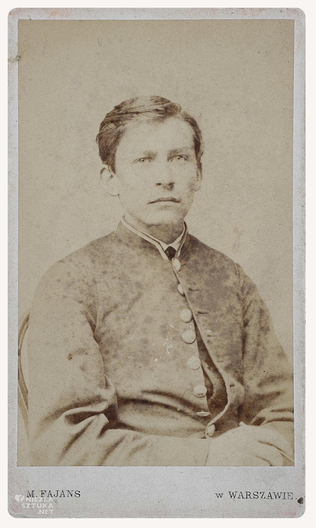 Józef Chełmoński, młody Chełmoński, malarz, sztuka polska, Niezła sztuka
