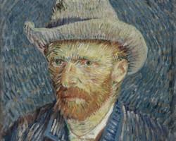 Vincent van Gogh, autoportret, Niezła sztuka