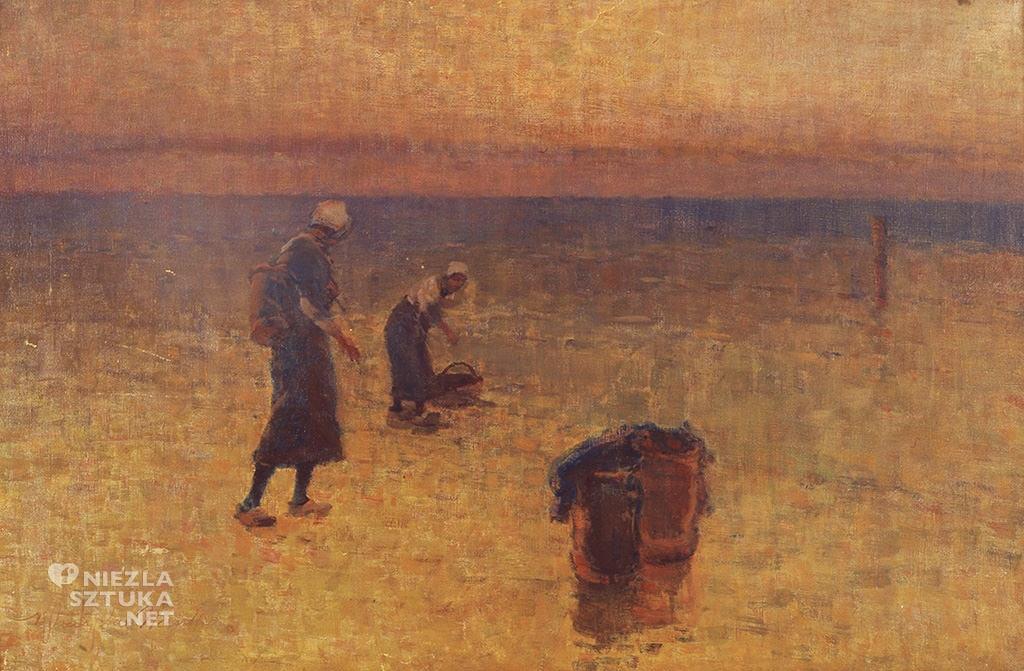 władysław wankie zbieranie krewetek, szczecin