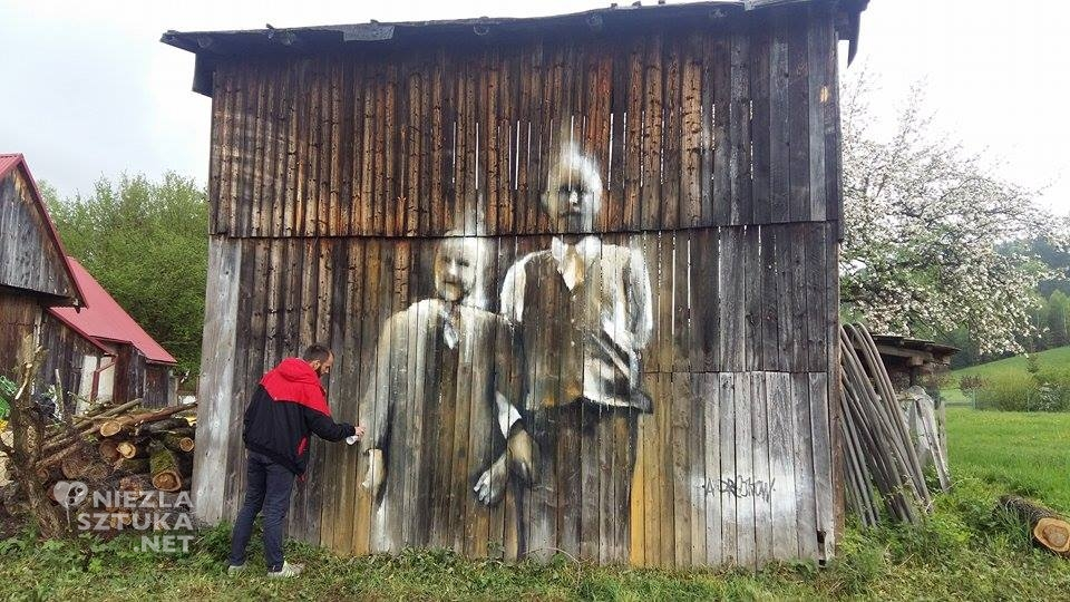 Arkadiusz Andrejkow mural