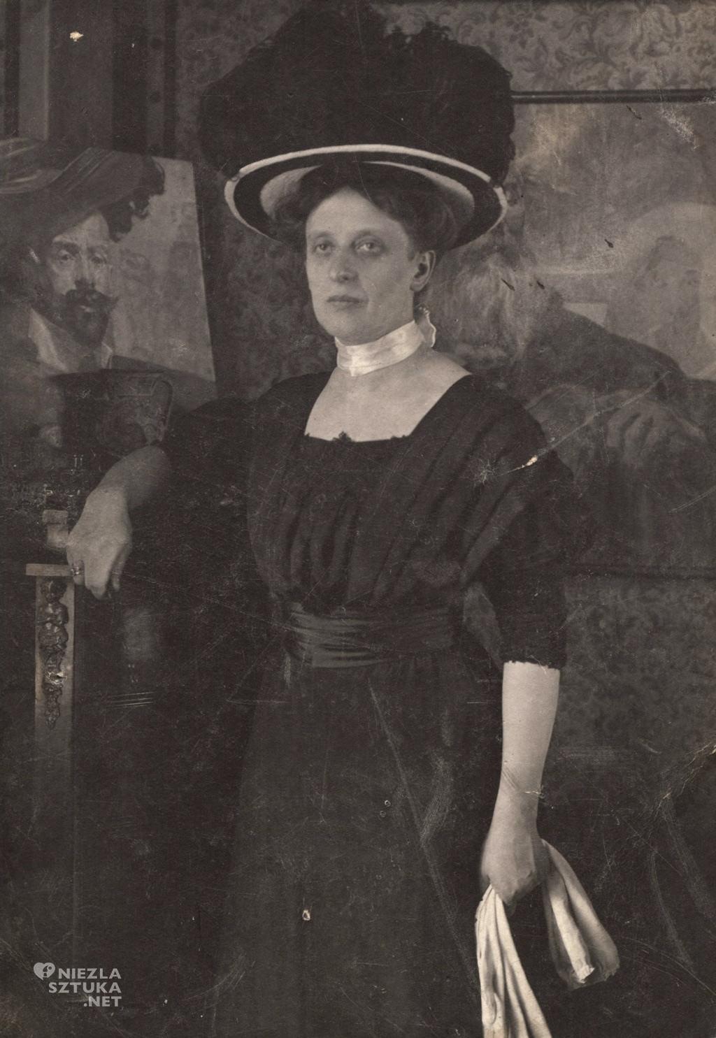 Żona Jacka Malczewskiego, fot. Muzeum Jacka Malczewskiego w Radomiu, Niezła sztuka