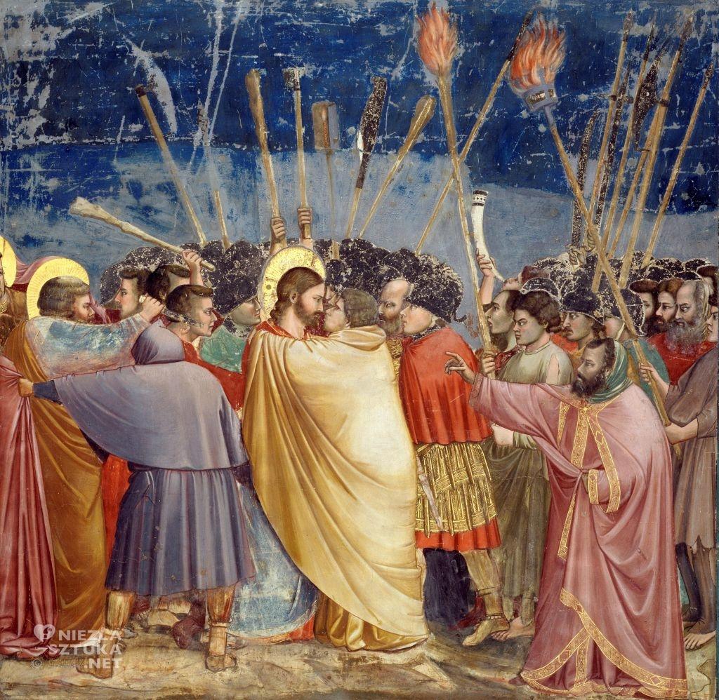 Giotto Pocałunek Judasza