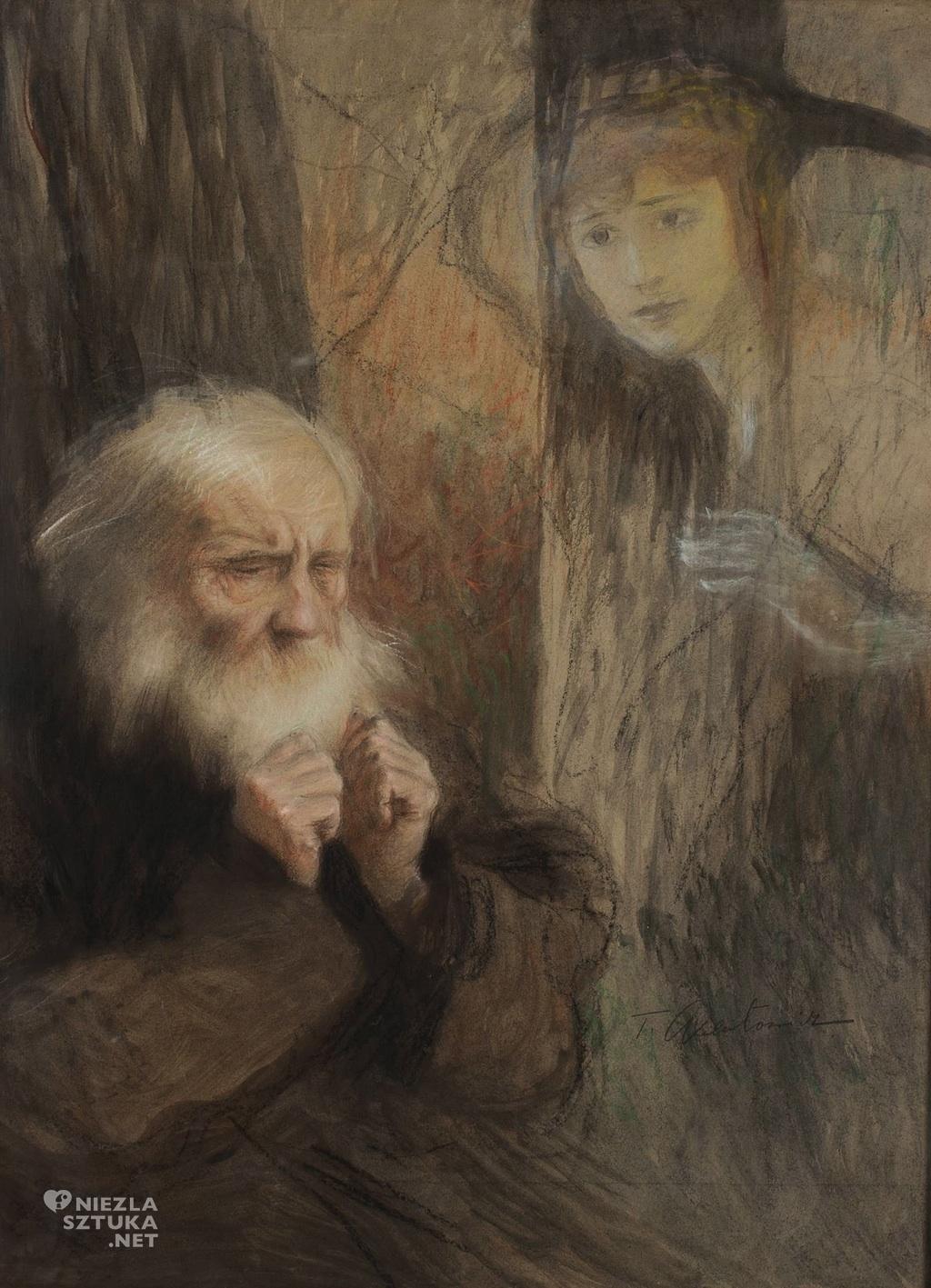 Teodor Axentowicz, Wizja - wspomnienie,