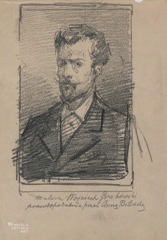 Anna Bilińska, Wojciech Grabowski, portret, Niezła sztuka