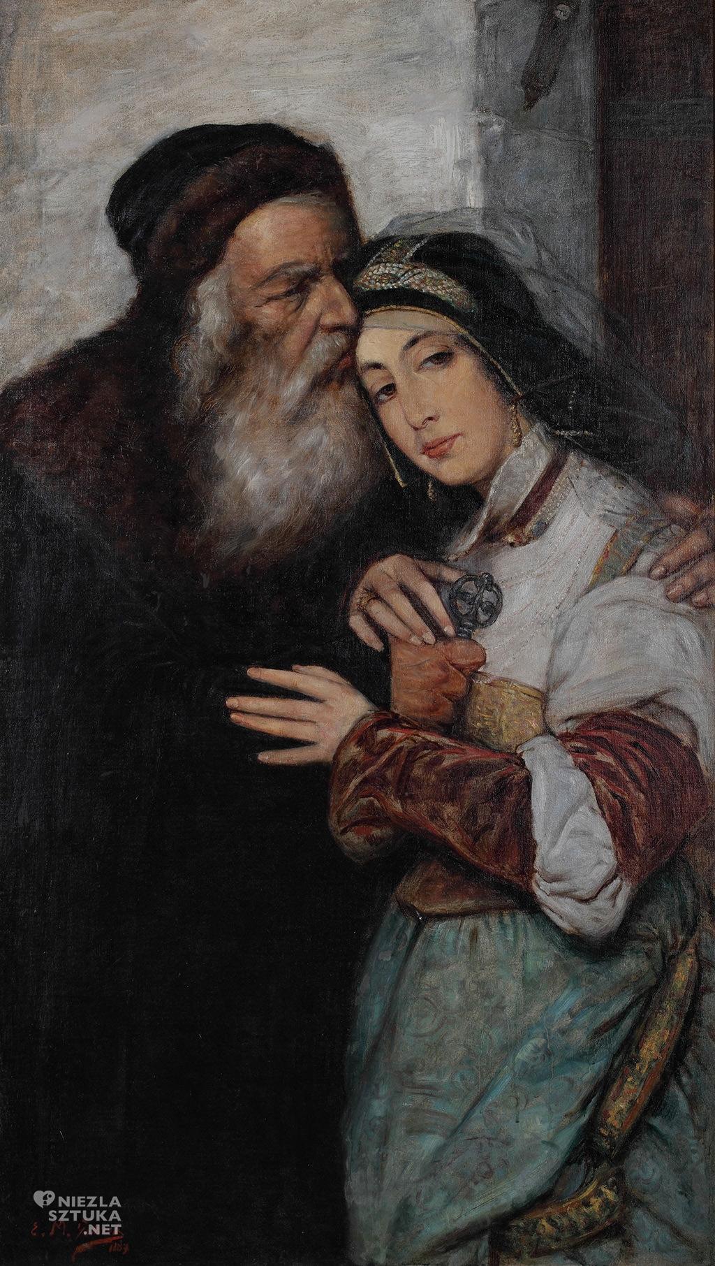 Maurycy Gottlieb Shylock Jessica