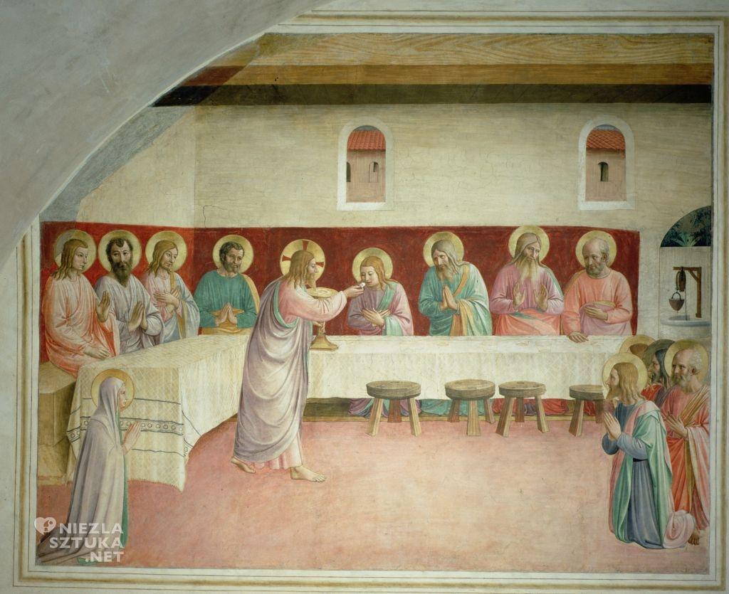 Fra Angelico Komunia Apostołów