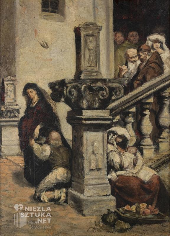 Maurycy Gottlieb, Jałmużna