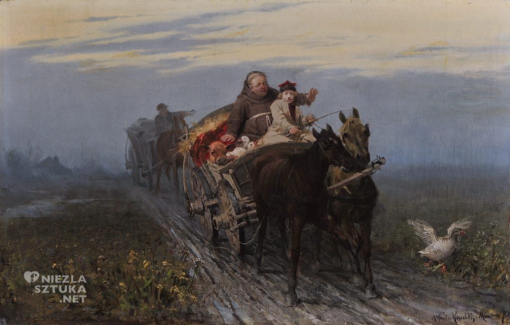 Alfred Wierusz-Kowalski Powrót kwestarza