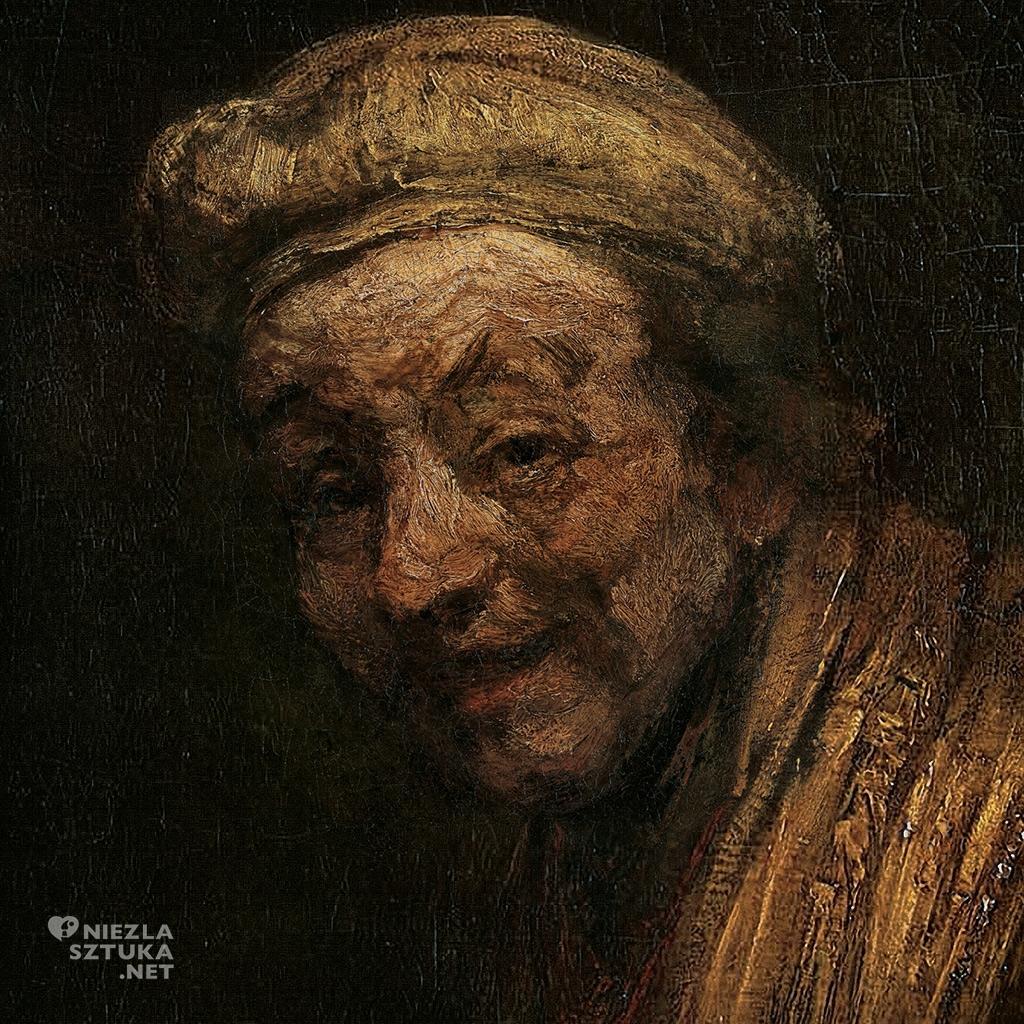 Rembrandt, Autoportret, Wallraf-Richartz Museum, Kolonia, Niezła sztuka