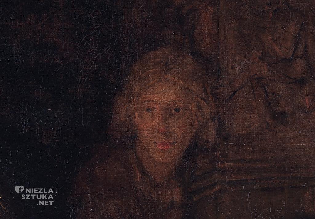 Rembrandt <em>Powrót syna marnotrawnego</em>, detal   1661–1669, Ermitaż