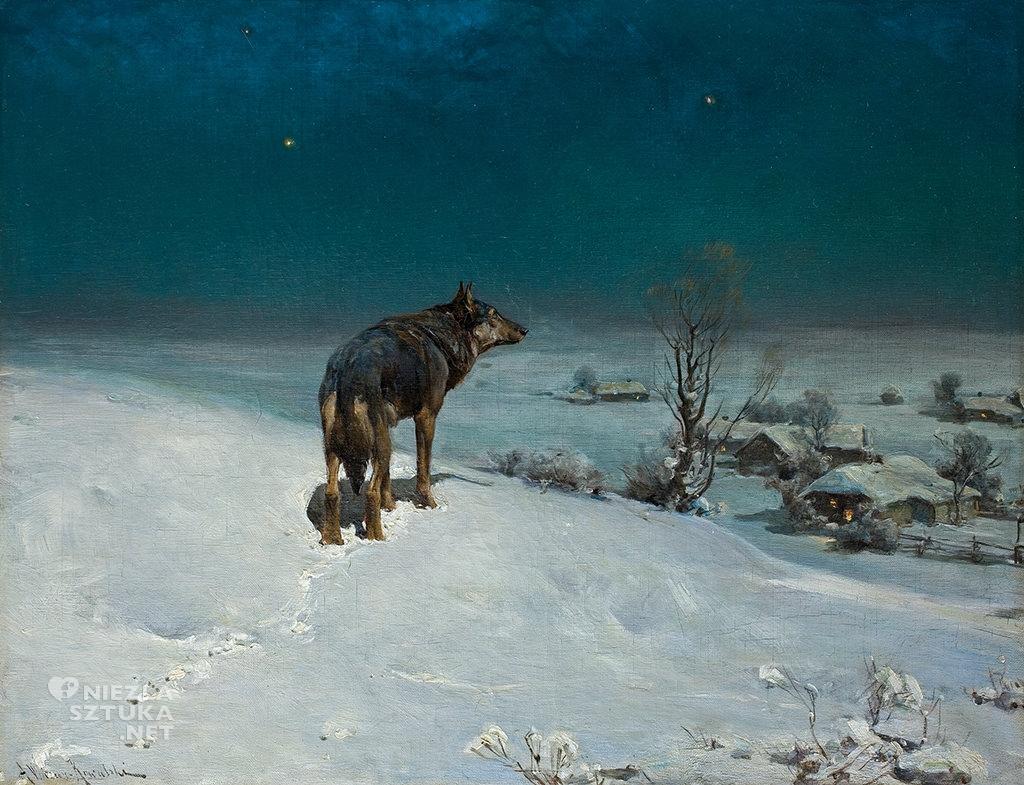 Alfred Wierusz-Kowalski Wilk
