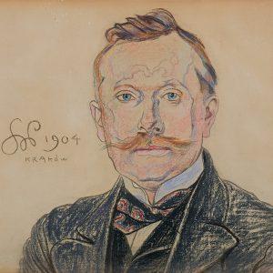 Stanisław Wyspiański Portret dra Jana Raczyńskiego, 1904