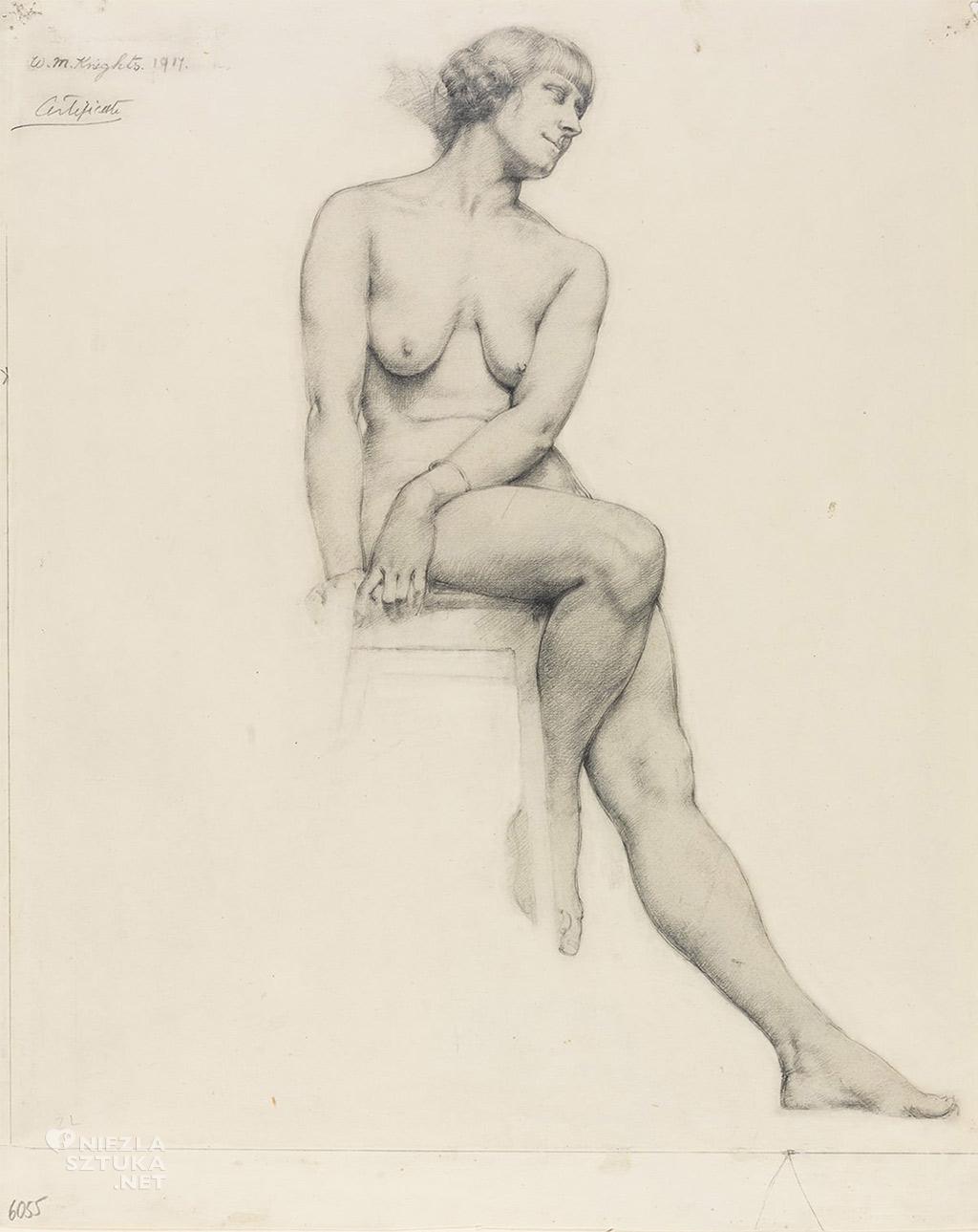 Winifred Knights, Akt, 1917, UCL Art Museum