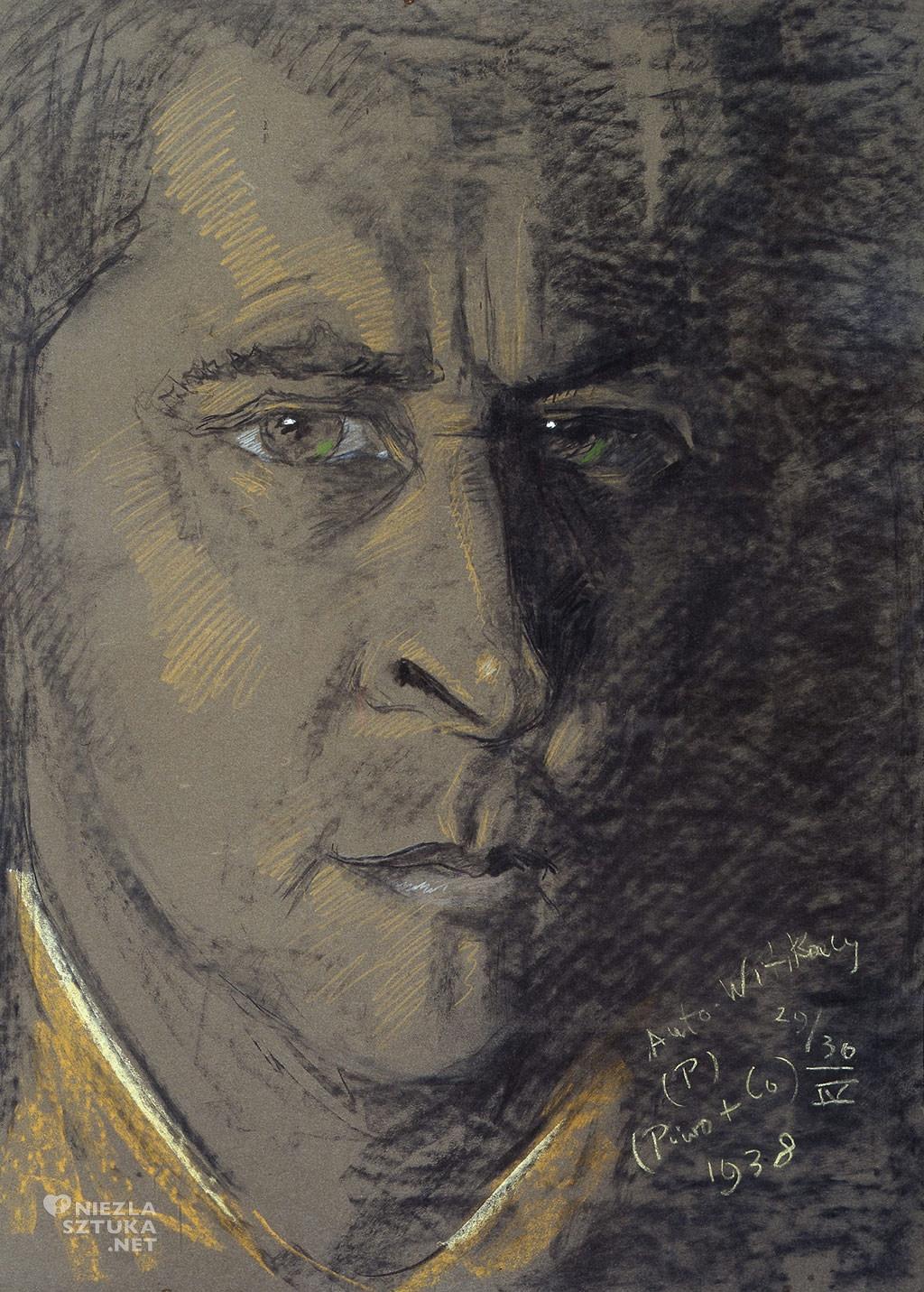 Stanisław Ignacy Witkiewicz (Witkacy), Autoportret | 1938, Muzeum Narodowe w Warszawie