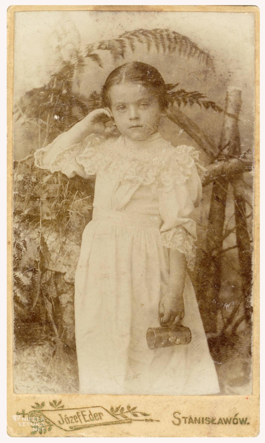 Helena Wyspiańska, ok 1901 roku, fot. Muzeum Historii Miasta Krakowa