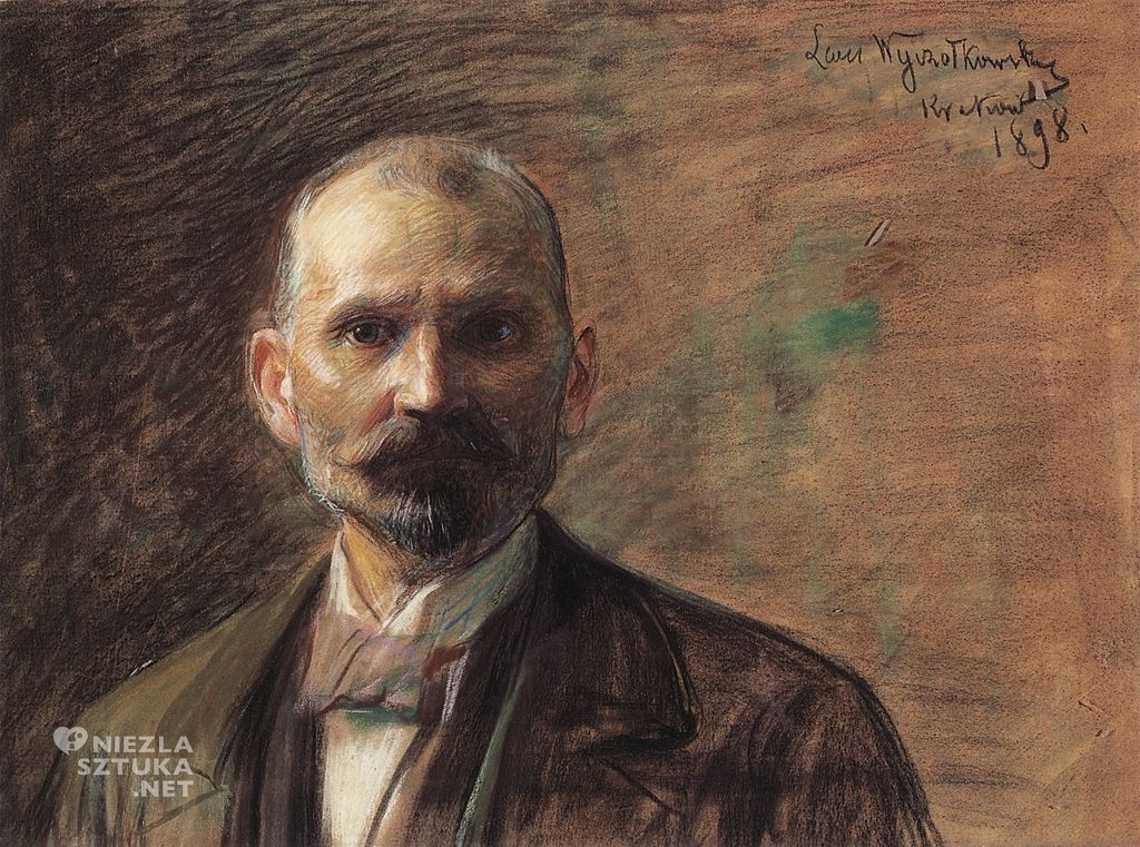 Leon Wyczółkowski, Autoportret   1898