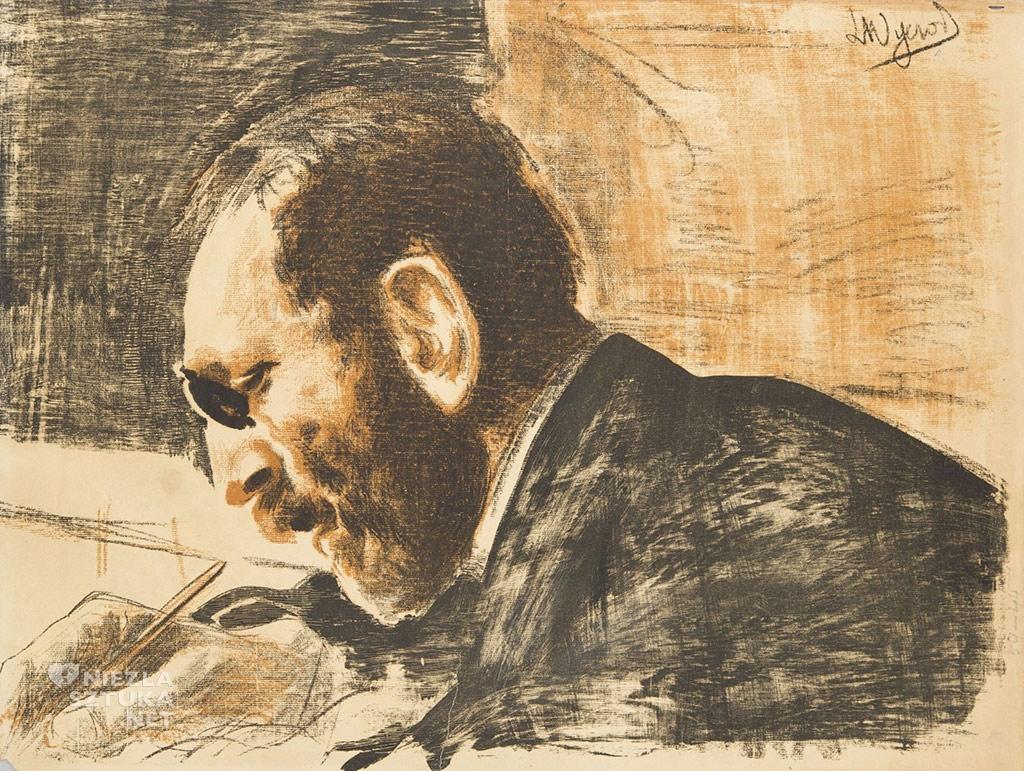 Leon Wyczółkowski, Portret Feliksa Jasieńskiego