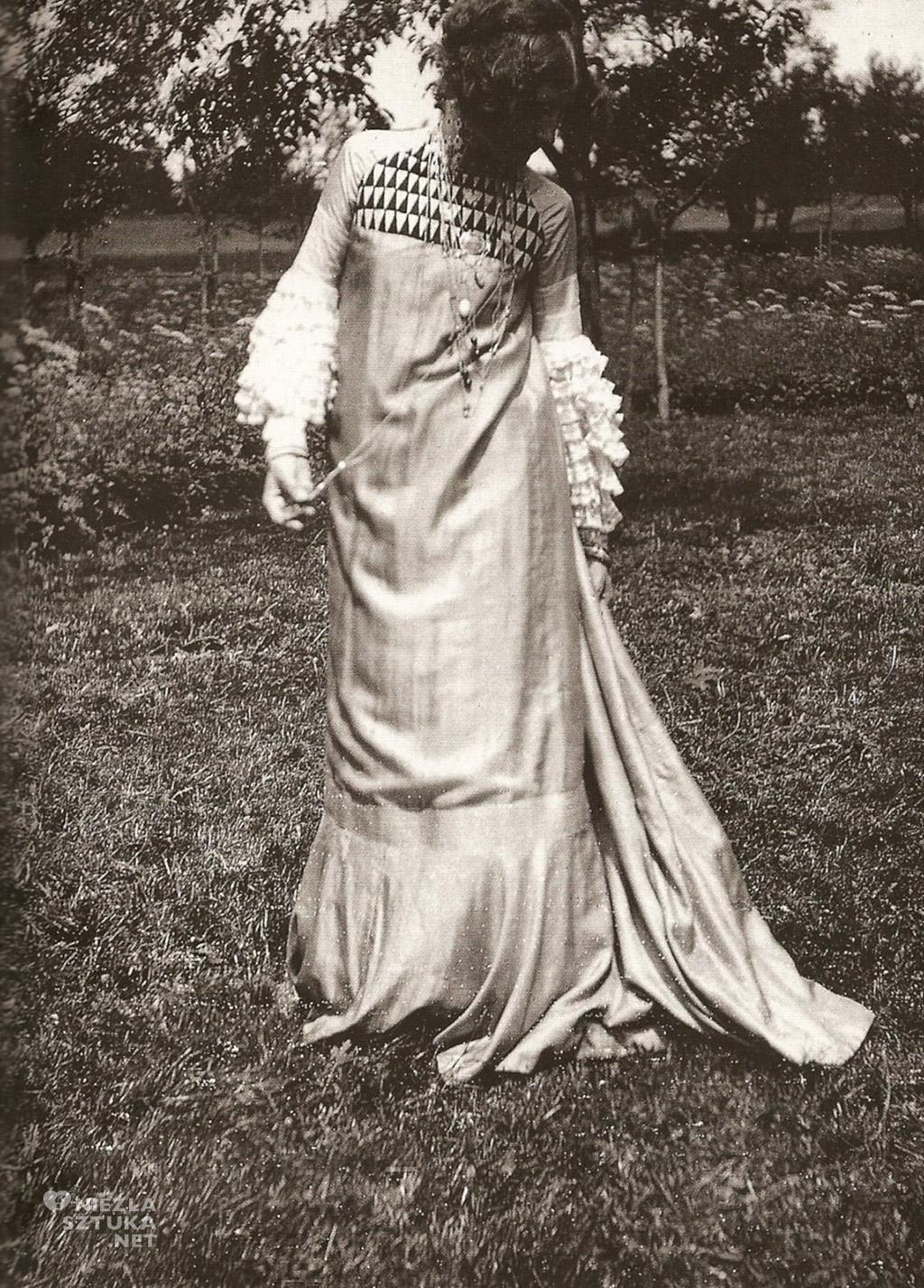 Gustav Klimt, Emilie Floege, moda, XX wiek, Austria, Niezła Sztuka