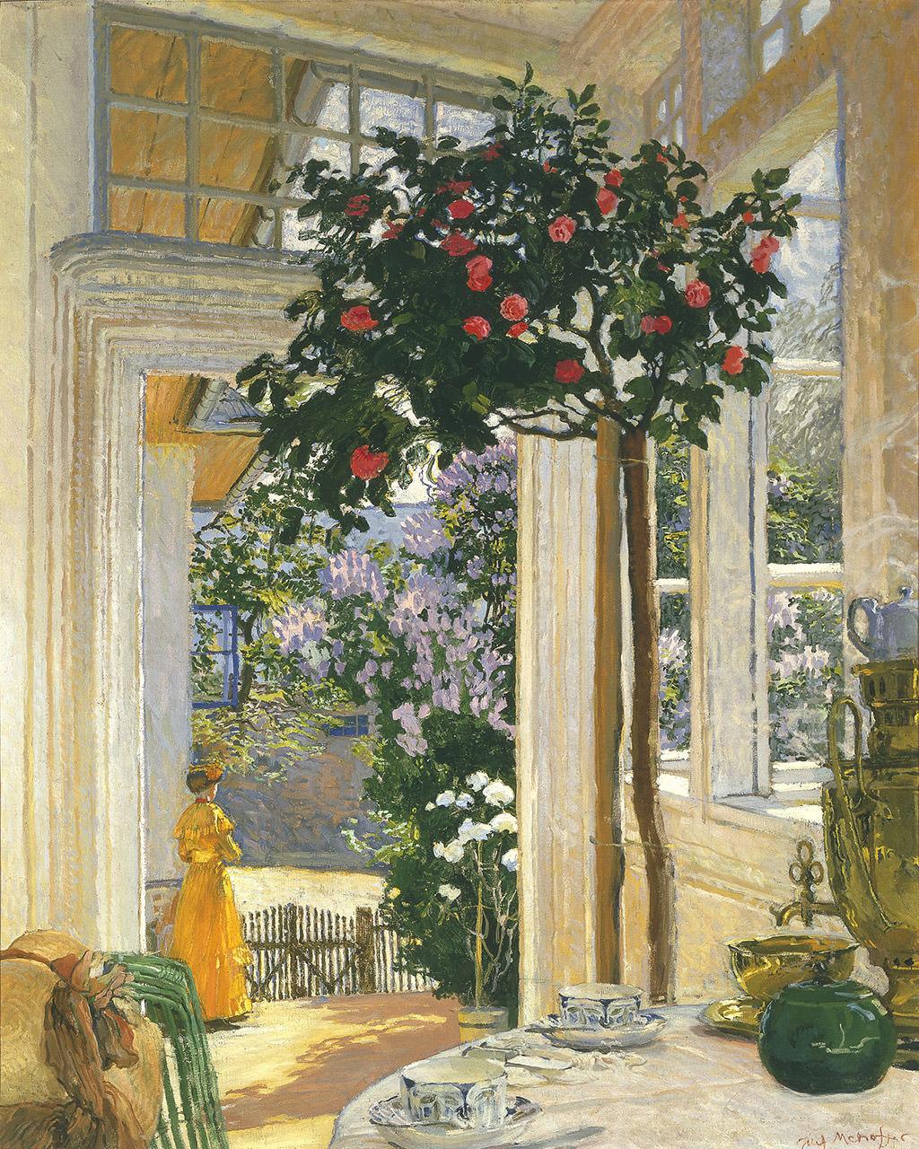 Józef Mehoffer, Słońce majowe, sztuka polska, malarstwo polskie, Niezła sztuka