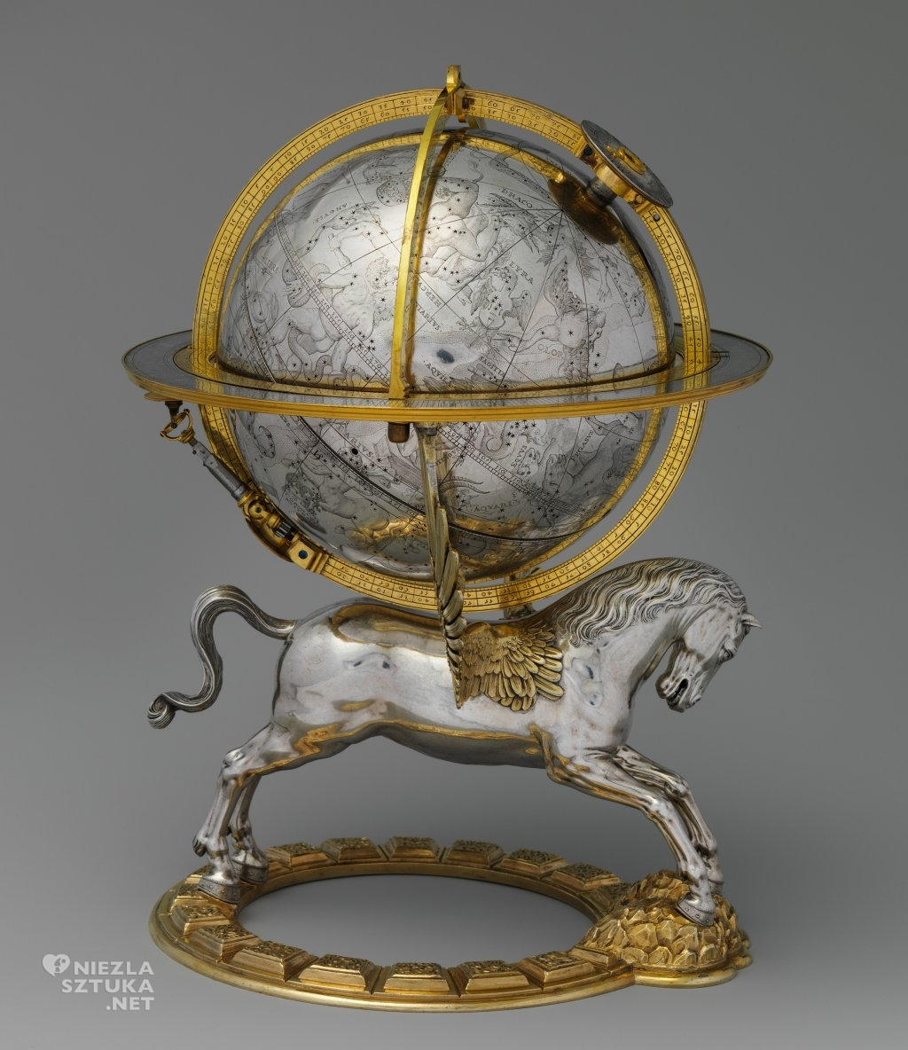 cesarz Rudolf II globus