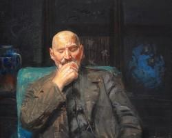 Leon Wyczółkowski, Autoportret, Bydgoszcz, Niezła Sztuka