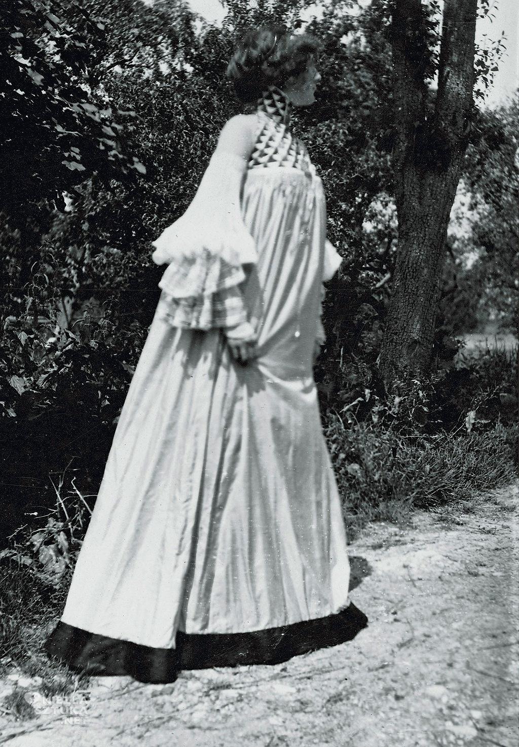 Emilie Flöge, Gustav Klimt, moda, Austria, Niezła Sztuka