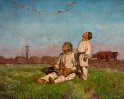 Józef Chełmoński, Bociany, Sztuka Polska, Niezła Sztuka
