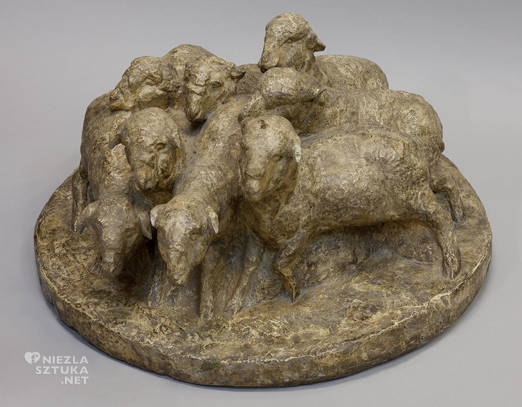 Ludwik Puget rzeźba