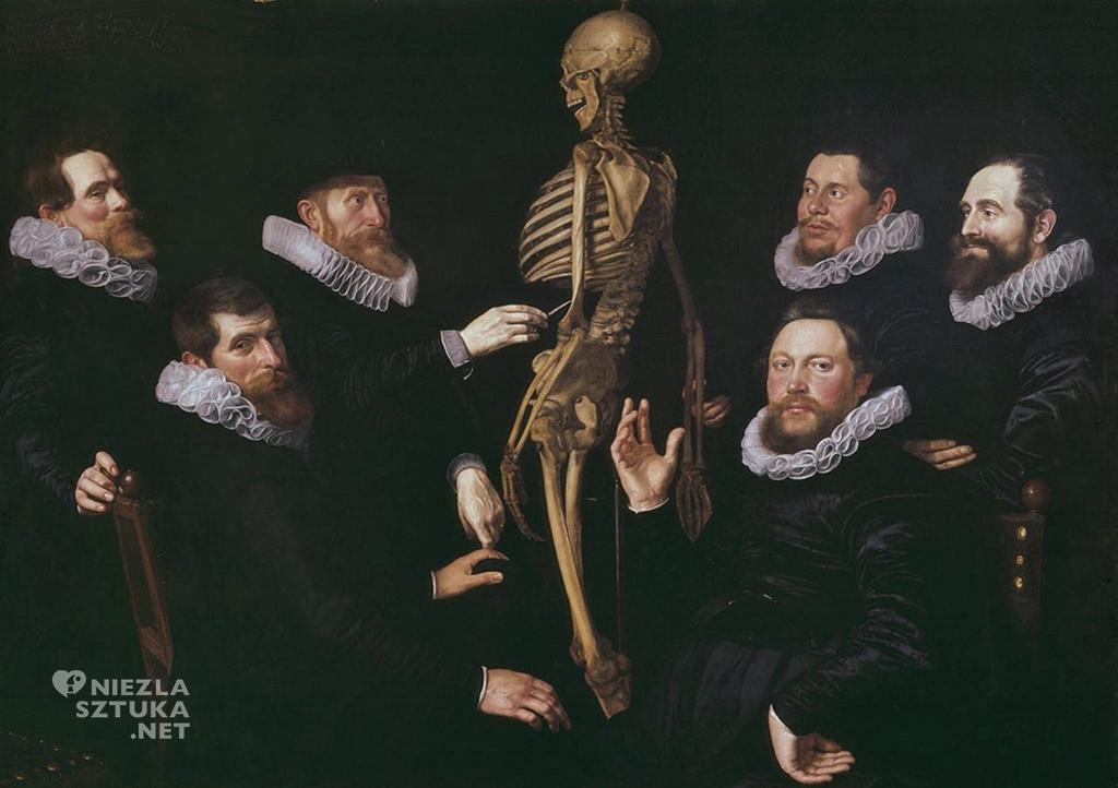 Nicolaes Elias Pickenoy, Thomas de Keyser, Lekcja anatomii doktora Sebastiaena Egbertsz.'a, malarstwo holenderskie, niezła sztuka