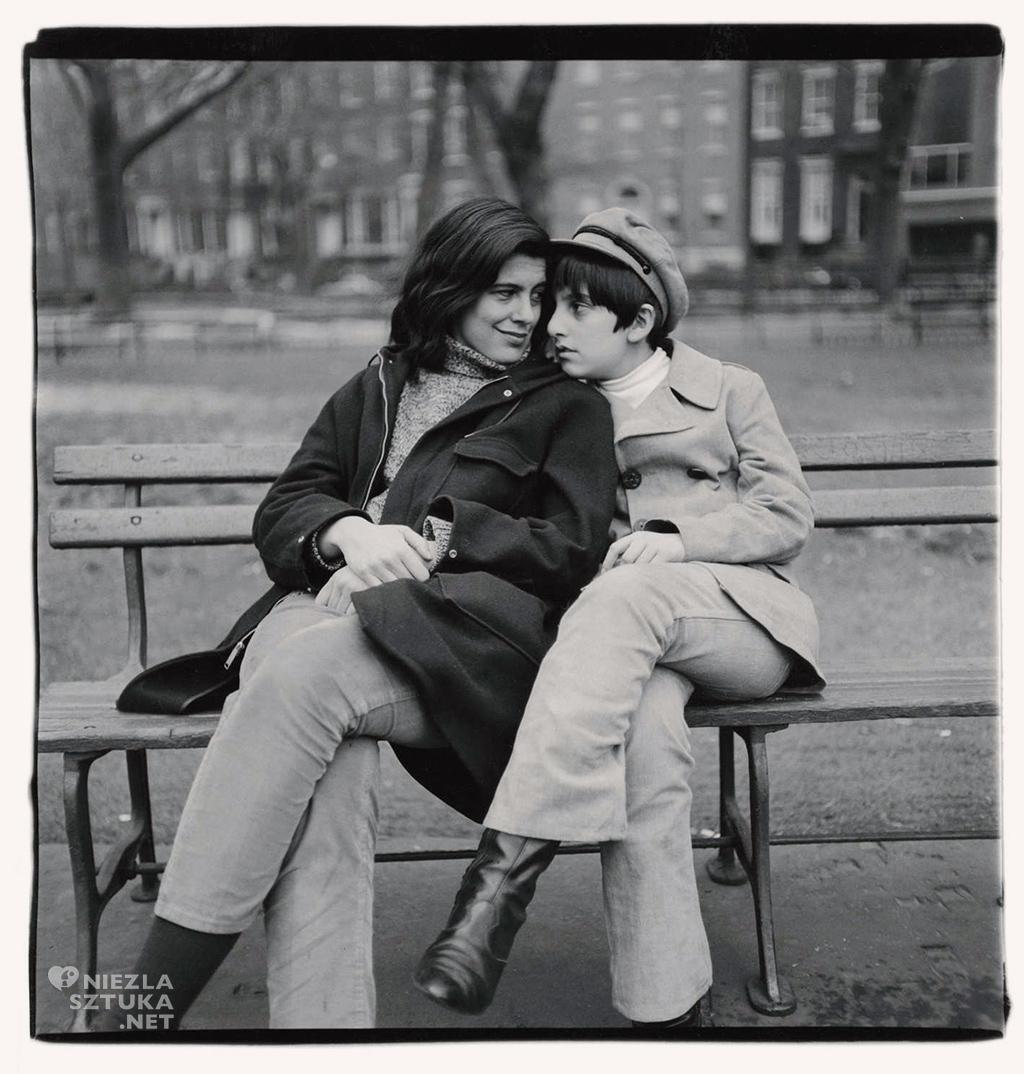 Susan Sontag z synem © The Estate of Diane Arbus