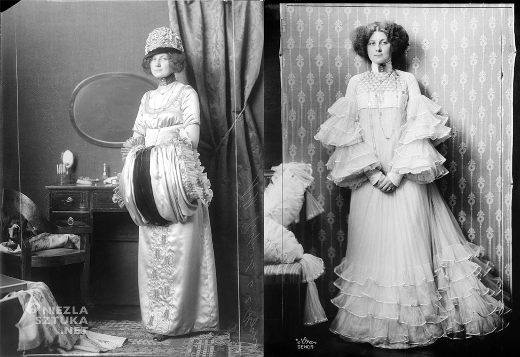 Emilie Flöge, moda, Austria, XX wiek, Niezła sztuka