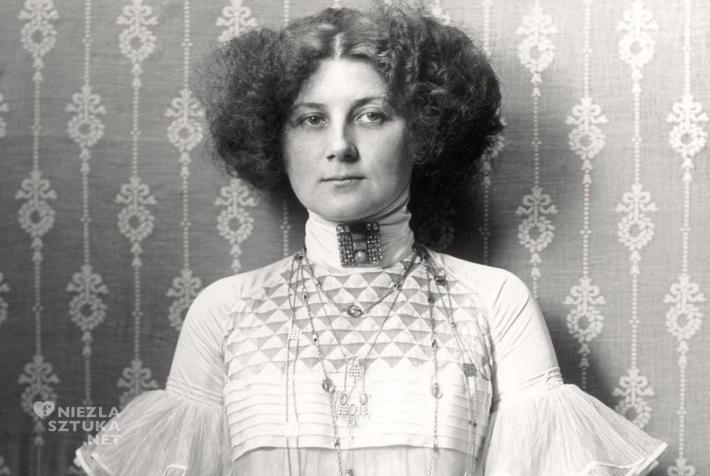 Emilie Flöge, 1910, fot. pinterest