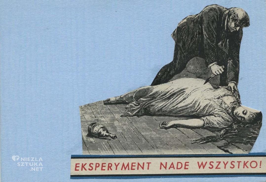 Wisława Szymborska, do Gizeli Szancerowej, 1994, autorska karta pocztowa, fot. archiwum MOCAK-u