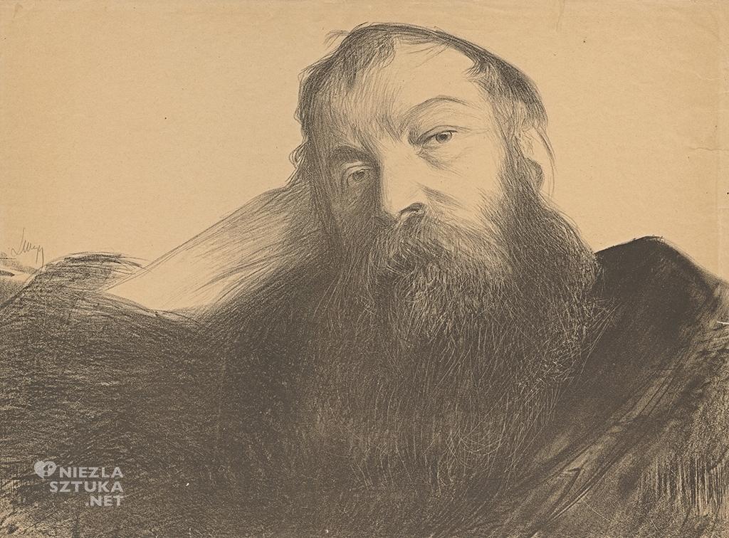 Leon Wyczólkowski, Portret Józefa Chełmońskiego, Muzeum Narodowe w Warszawie, sztuka polska, Niezła sztuka
