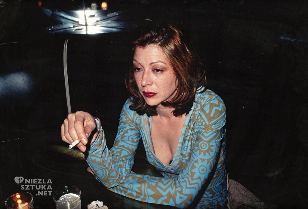 Nan Goldin <em>Kathleen at Bowery Bar</em>, 1995, fot. artnet.com