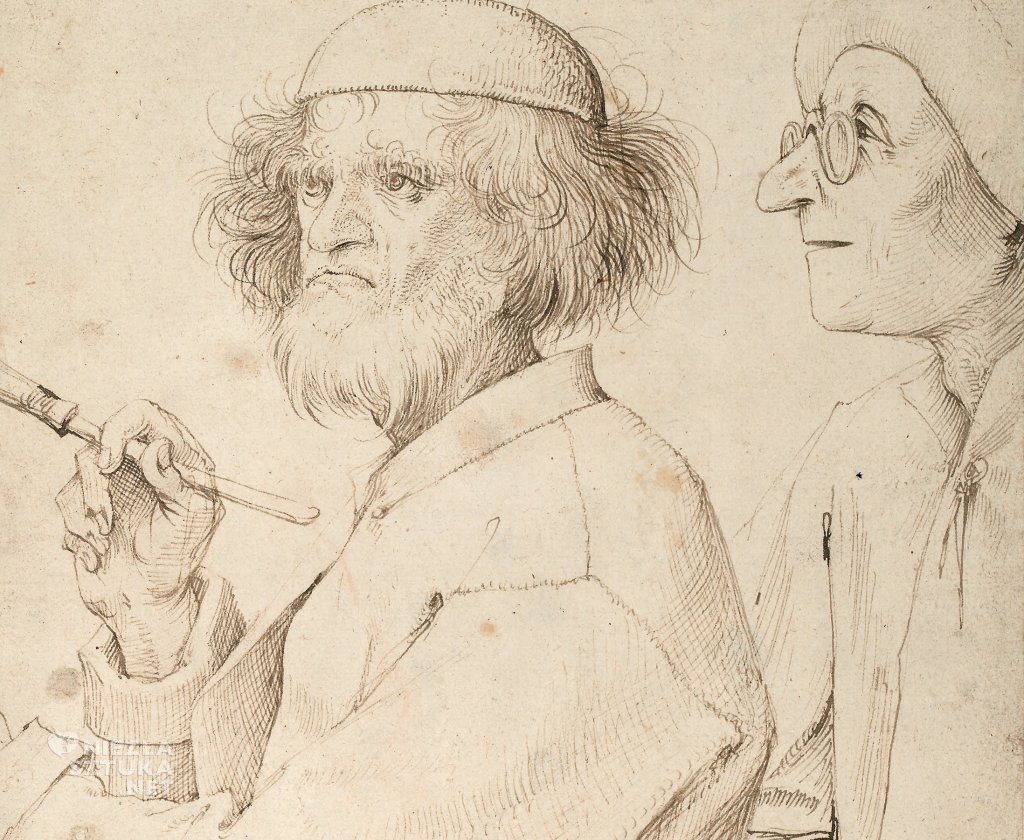 Pieter Bruegel Starszy Autoportret, Niezła sztuka