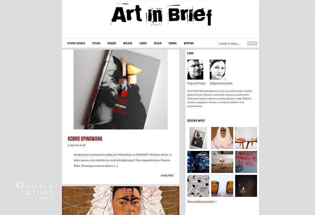 art-in-brief
