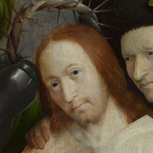 Hieronim Bosch, Cierniem ukoronowanie, detal, sztuka niderlandzka, Niezła Sztuka