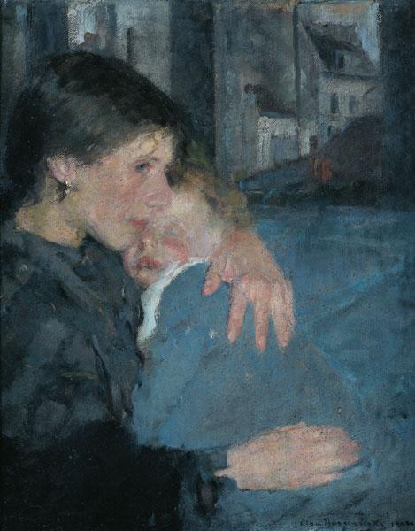 Olga Boznańska, Macierzyństwo, Niezła sztuka