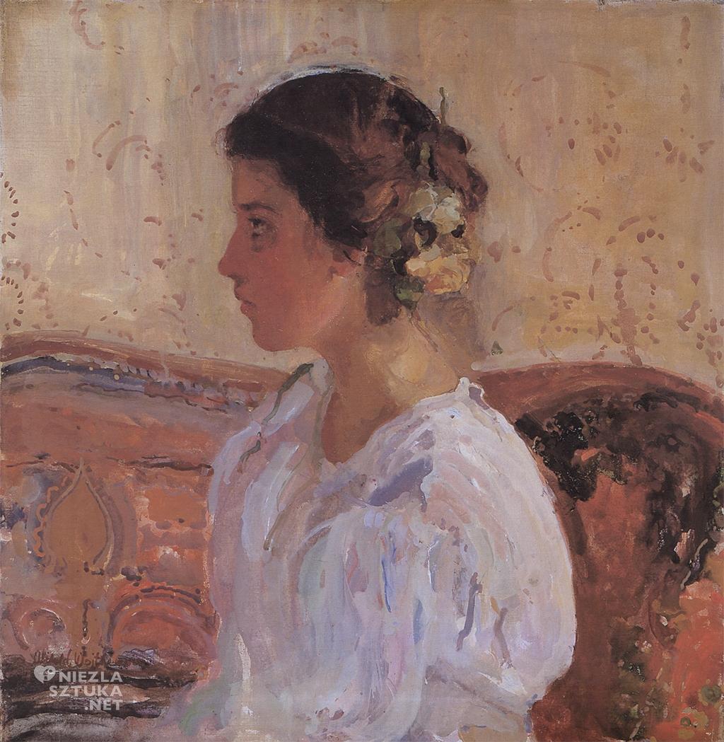 Witold Wojtkiewicz,<em>Portret Lizy Pareńskiej</em>, 1906, Muzeum Narodowe w Warszawie