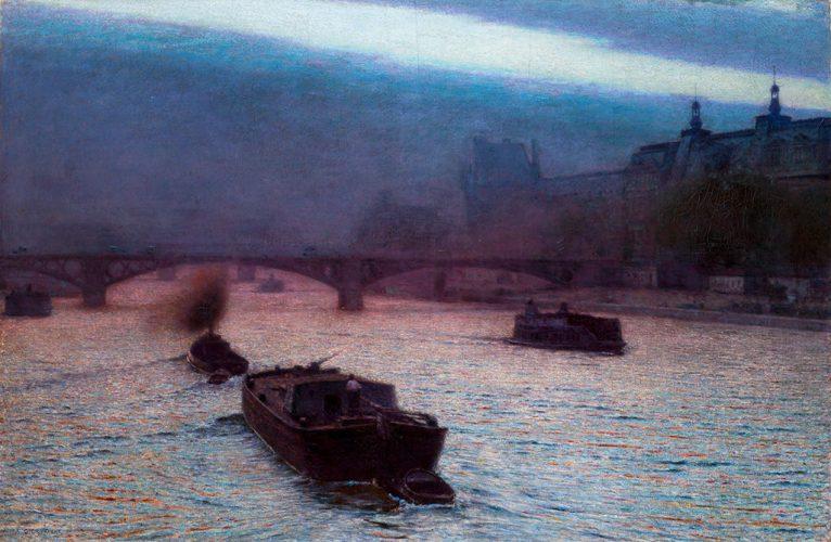 Aleksander Gierymski Wieczór nad Sekwaną (1893)