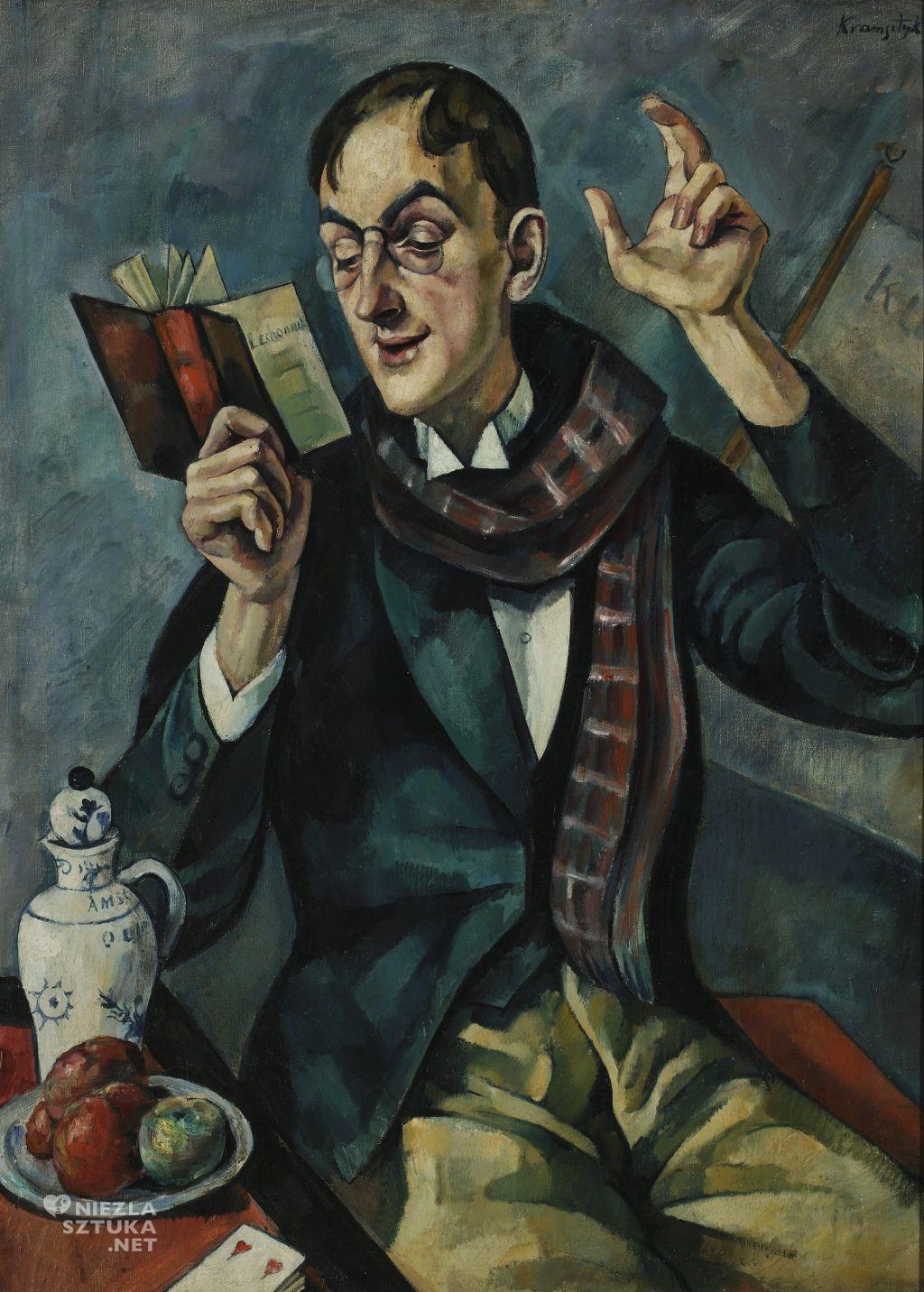 Roman Kramsztyk, Portret poety Jana Lechonia