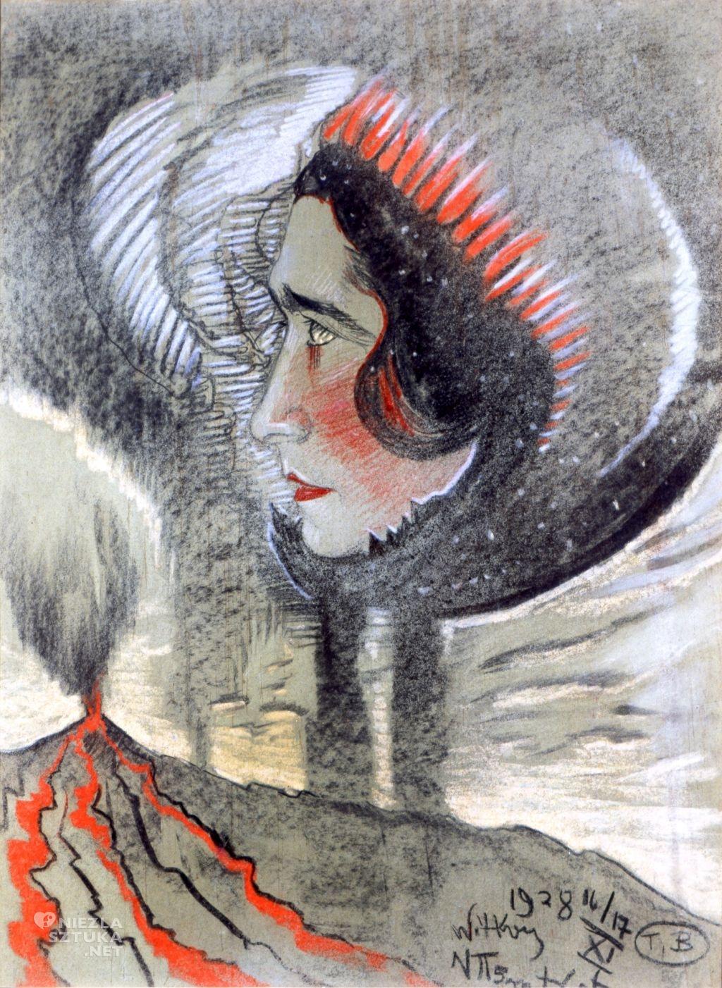 Witkacy Portret Ireny Krzywickiej | 1928, Muzeum Pomorza Środkowego w Słupsku