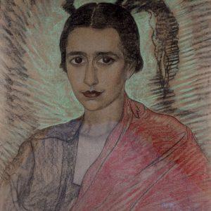 Witkacy Portret Ireny Krzywickiej