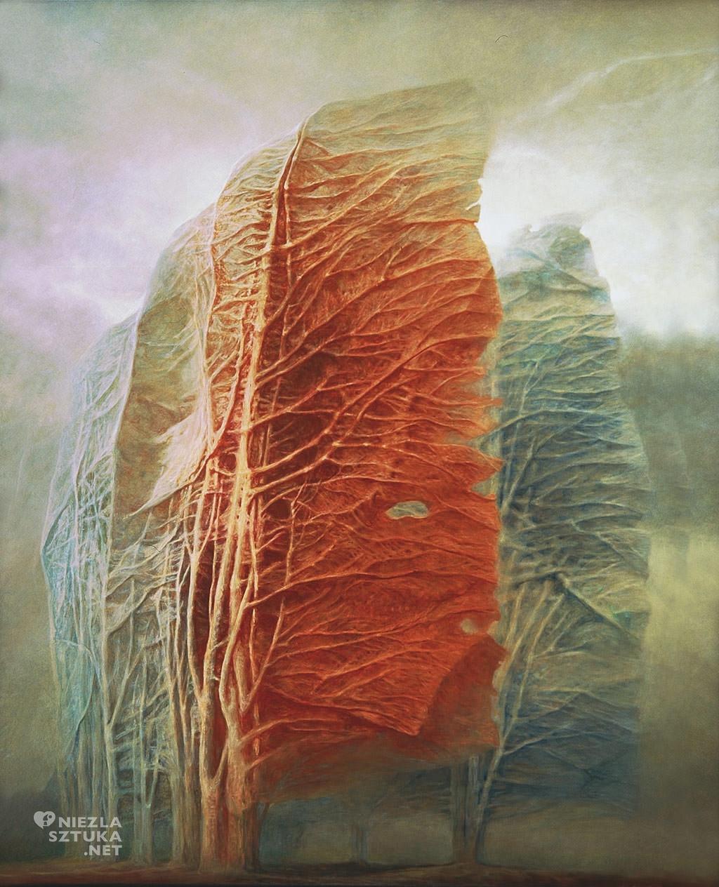 Zdzisław Beksiński, Bez tytułu, 1988