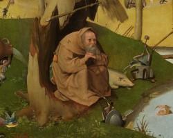 Hieronim Bosch Kuszenie św. Antoniego, niezła sztuka