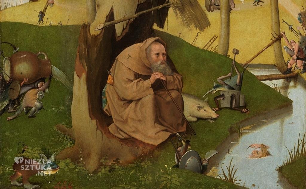 Hieronim Bosch, Kuszenie św. Antoniego, malarstwo niderlandzkie, Niezła Sztuka